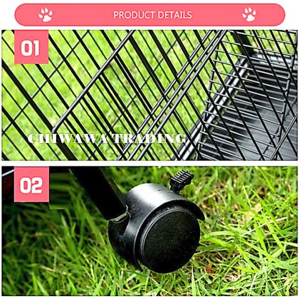 CG3【90 x 60 x 196cm】Pet Dog Cat Rabbit Cage Crate House Home / Rumah Haiwan Anjing Kucing Sangkar