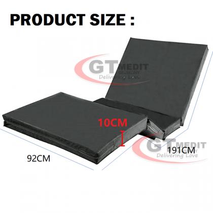 Tri-Fold Foldable Waterproof PU Foam Double Fowler Position Hospital Bed Mattress / Tilam Katil