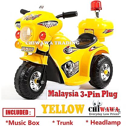 KIDD【Music + LED Light】Electric Kids Scooter Motor Bike Car Riding Toy Bicycle Tricycle Walker Stroller Kereta Budak