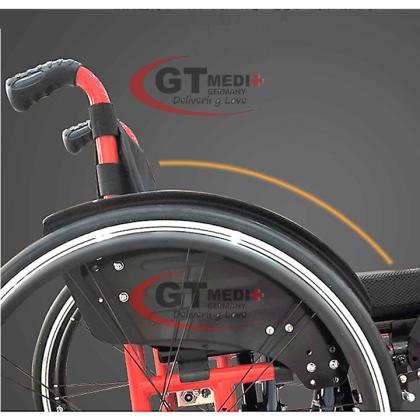 WEX-P39-11 GT MEDIT GERMANY Lightweight Tight Narrow Self Propelled Sport Exercise Wheelchair Wheel Chair Kerusi Roda