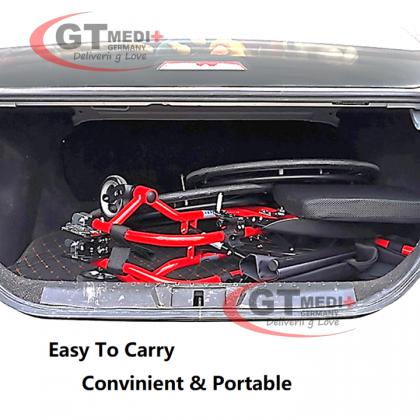 WEX-P37-11 GT MEDIT GERMANY Lightweight Tight Narrow Self Propelled Sport Exercise Wheelchair Wheel Chair Kerusi Roda