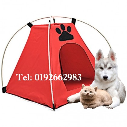 【Large Size】Pet Dog Cat Tent Foldable Waterproof Home House Bed Ant-catch