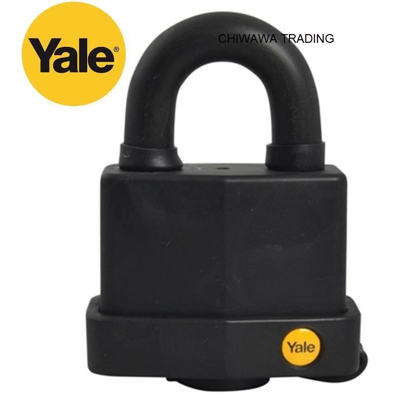 Yale Y220/51/118/1 Classic Series Weather Resistant Laminated Steel Padlock 51mm Kunci