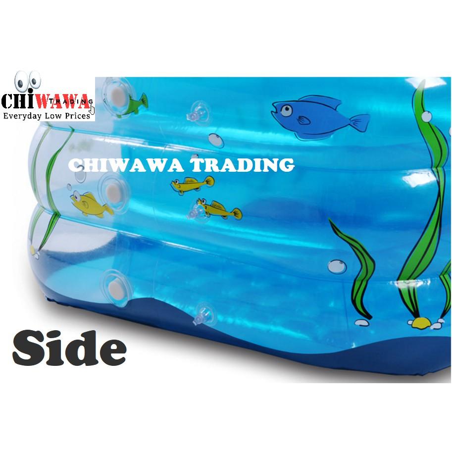 PROMOTION 212A Inflatable Ring Swimming Pool Safe PVC Bath Basin KOLAM KANAK