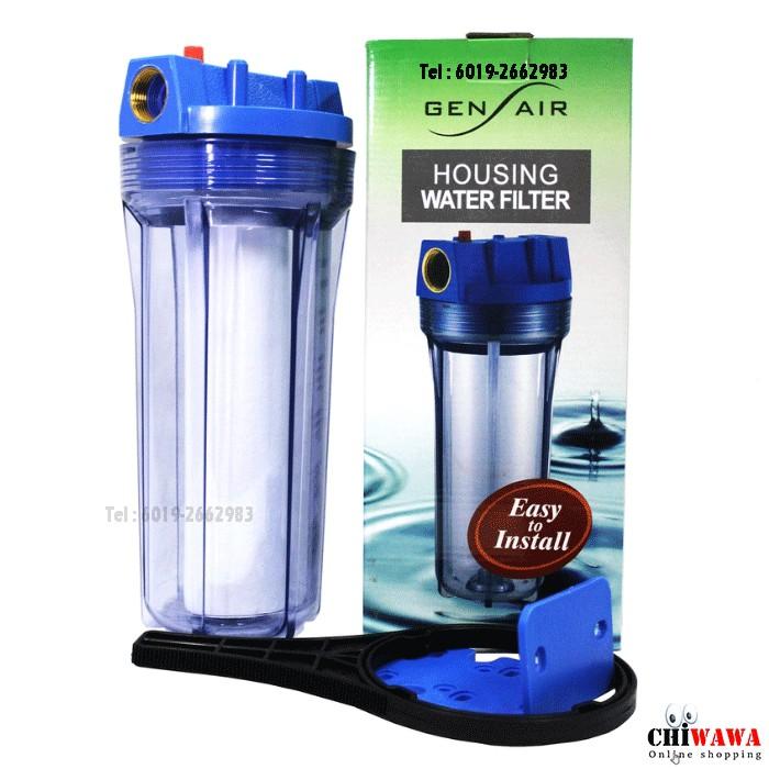 Gen Air CLERA GA100 Housing Water Filter SET Air
