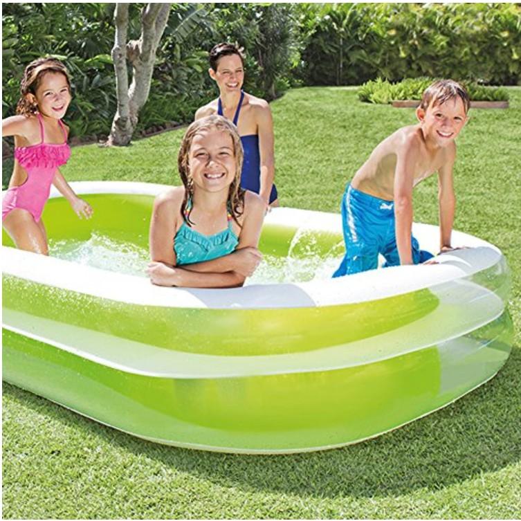 PROMOTION 56483 Inflatable Ring Swimming Pool Safe PVC Bath Basin KOLAM KANAK