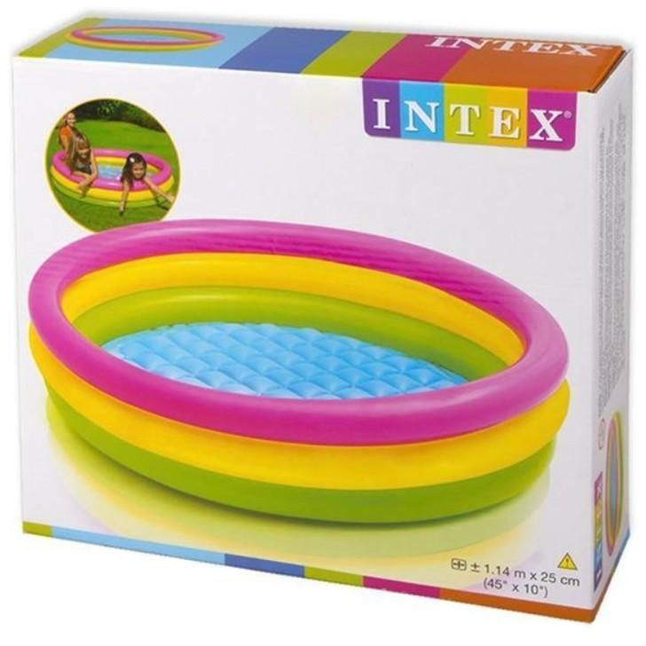 PROMOTION 58924 Inflatable Ring Swimming Pool Safe PVC Bath Basin KOLAM KANAK