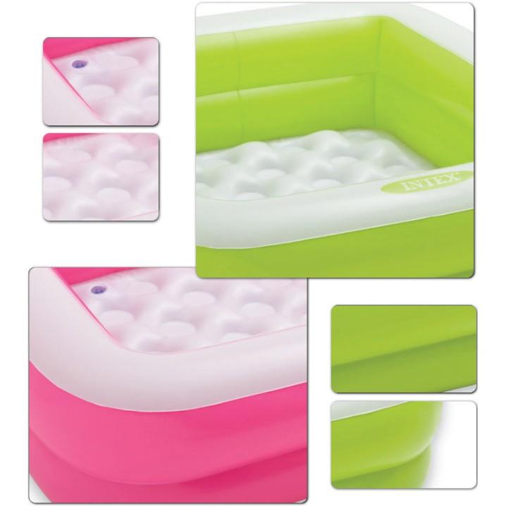 PROMOTION 57100 Inflatable Ring Swimming Pool Safe PVC Bath Basin KOLAM KANAK