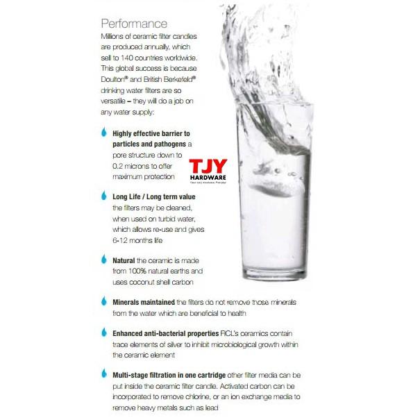 Royal Doulton Standard Ceramic Water Filter Candle Filter