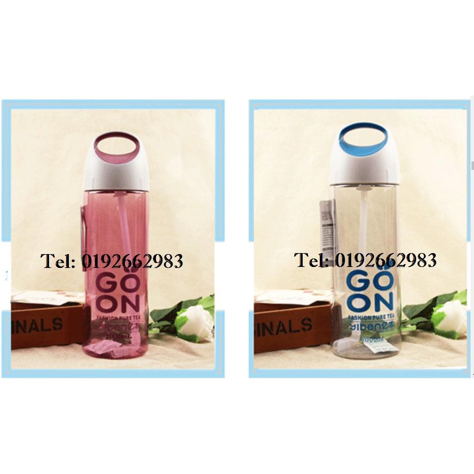 RGOID TIGER 2L Water Bottle with Straw Heat Resistance(2000mL)- Blue