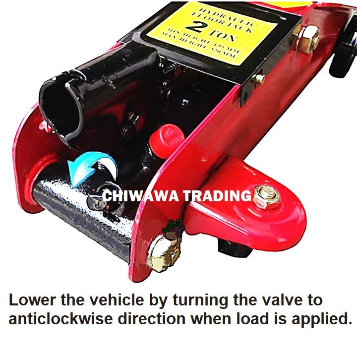 3 Ton Heavy Duty Hydraulic Floor Jack Trolley Automotive Car Van Truck SUV Emergency Kit Set