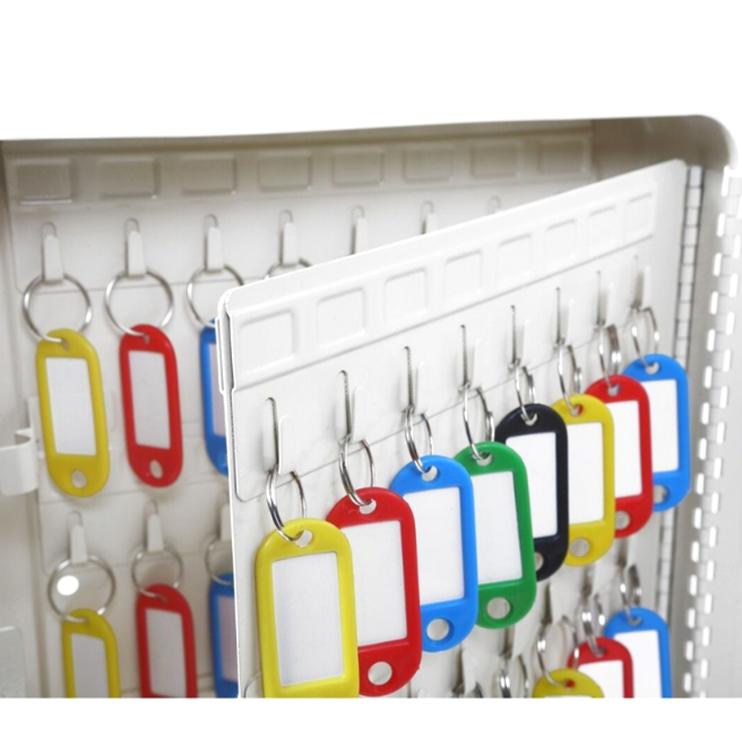 20 Keys Organizer Metal Box Lockable Security Key Cabinet / Storage Box